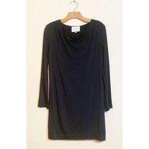 3.1 Phillip Lim Cowl Neck Black Sheath Dress XS